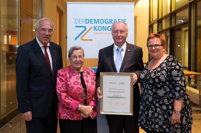 """Preis der Initiative """"Deutschland – Land des Langen Lebens"""" 2014"""
