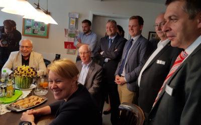 Bundesfamilienministerin Giffey im Mehrgenerationenhaus Bad Rodach