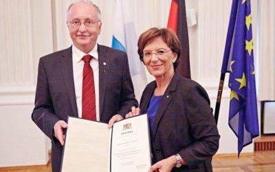 Hohe Ehrung für AWO Kreisvorsitzenden Hubert Joppich in München