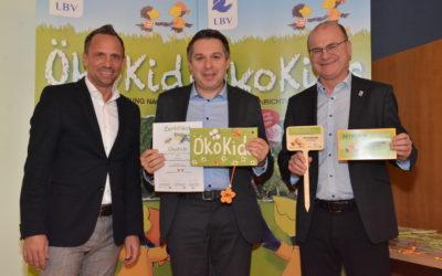 """AWO Schülerhort erhält Prämierung als """"Öko-Kids"""""""