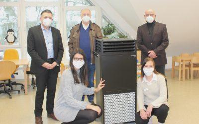 AWO Kreisverband schafft mobile Luftreinigungsgeräte an